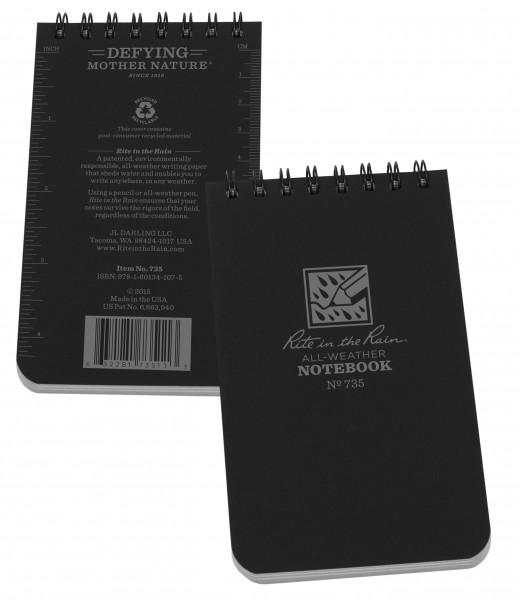 """Rite in the Rain Tactical Notebook 3"""" x 5"""""""