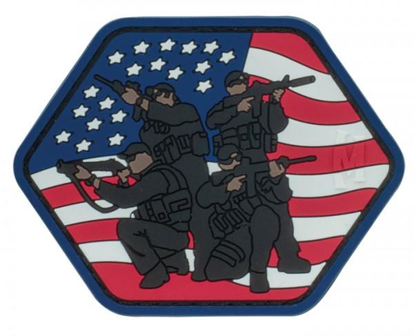Maxpedition Rubber Patch TACTICAL TEAM