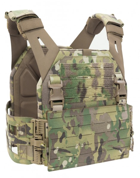 WAS Laser Cut Low Profile Plate Carrier V2