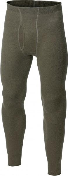 Woolpower Unterhose lang mit Eingriff 200 Pine Green