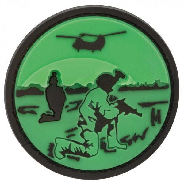 Maxpedition Rubber Patch NIGHT VISION Glow