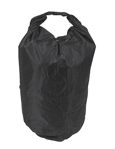 MFH Wasserdichter Packsack Schwarz 10 Liter