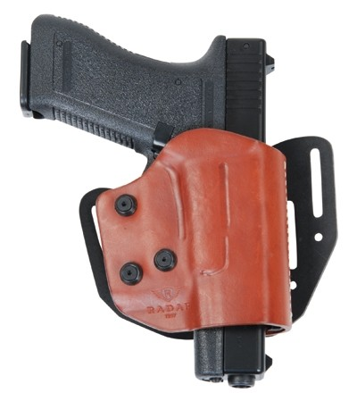 Radar Thunder-C Holster Leder Glock 17/22 - Rechts