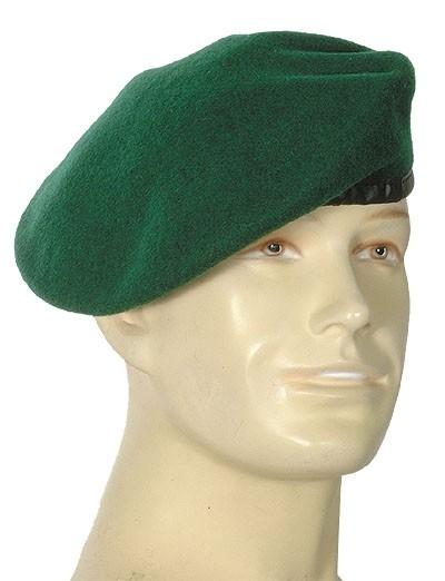 Barett Standard Jägergrün Import