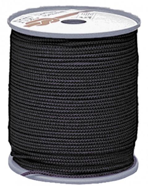 Commando Seil 3 mm Schwarz - 30 Meter auf Rolle
