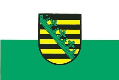Flagge BL Sachsen