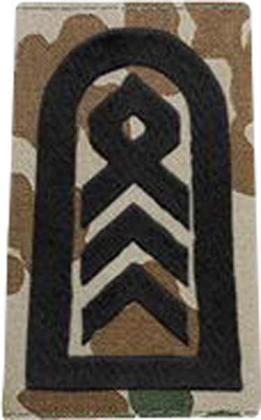 BW Rangschl. Oberstabsfeldwebel Tropentarn/Schwarz