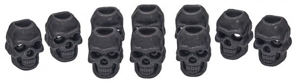 Mil-Tec Kordelstopper Skull 10er-Pack