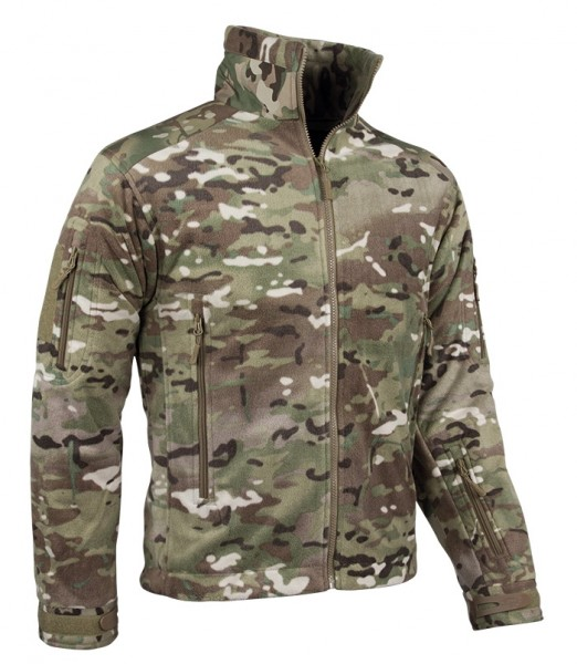 Delta Jacket Fleece Multitarn