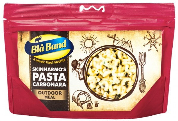 Blå Band Outdoor Meal - Pasta Carbonara