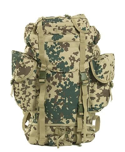 BW Kampfrucksack 3-Farben Tropentarn Professional