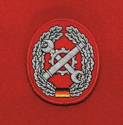 Barett Abzeichen Instandsetzung Textil