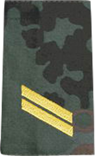 BW Rangschl. Obergefreiter Marine Tarn/Gold