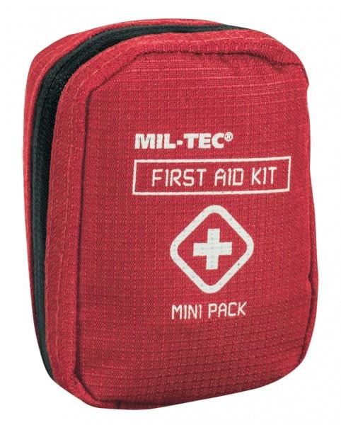 Mil-Tec First Aid Kit Mini Pack Rot