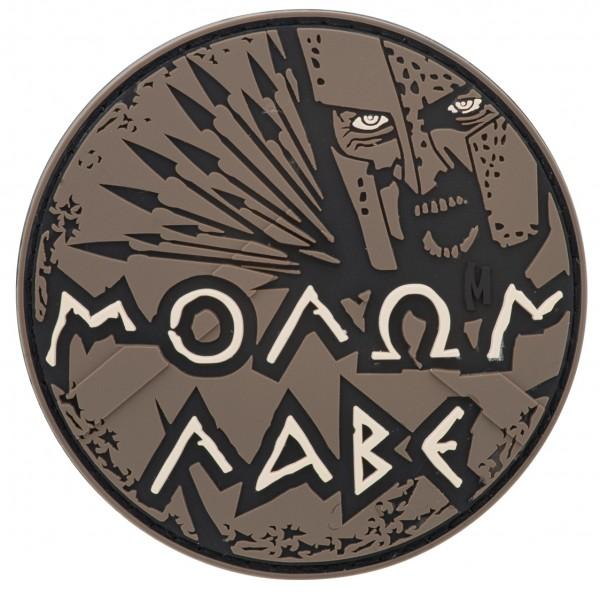 Maxpedition Rubber Patch MOLON LABE Arid