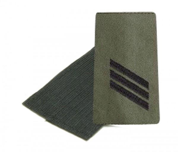 BW Rangschl. Hauptgefreiter Heer Oliv/Schw. Klett