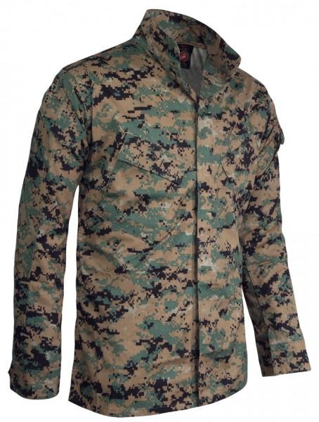 GI USMC Marpart Shirt Original Woodland Digital