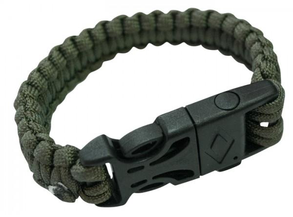 Relags Parachute Cord Bracelet mit Zündstahl