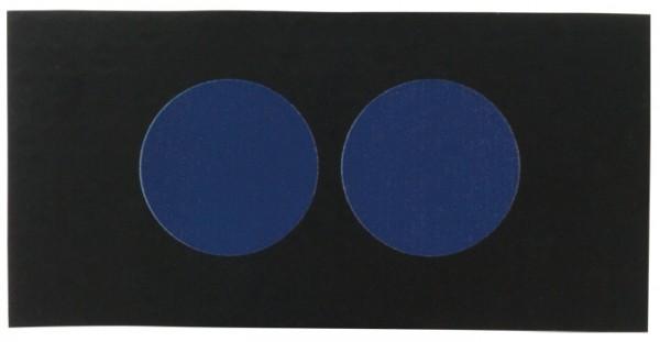 Infrarot Patch Polizei Gruppenführer Schwarz/Blau