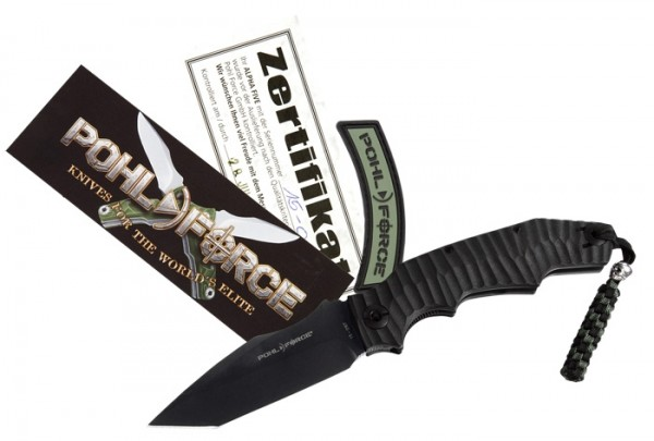 Pohl Force Alpha Five Survival - Glatte Schneide