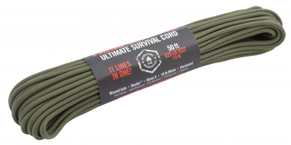 Atwood Rope Parapocalypse Ultimate Survival Paracourd Seil 50ft