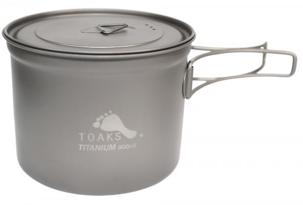 Toaks Titanium Pot 900 ml mit Deckel