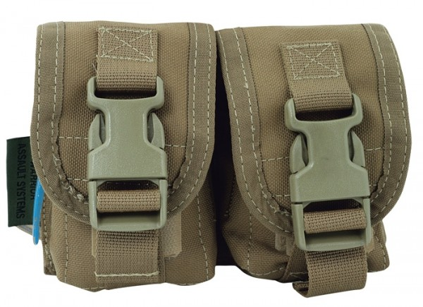 Warrior Double Frag Pouch Coyote