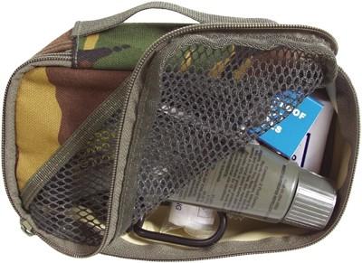WEB-TEX Packtasche mit Netzsichtfach DPM-Tarn