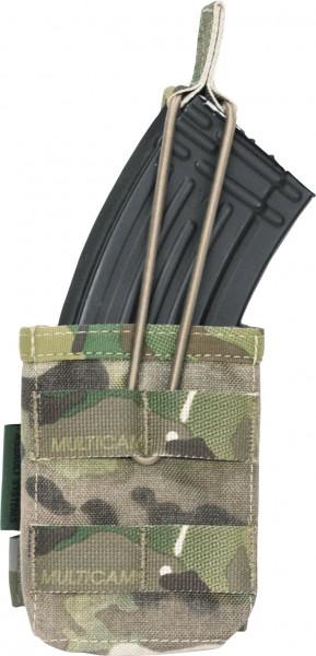 Warrior Single Open Mag Pouch AK47/AK74 Multicam