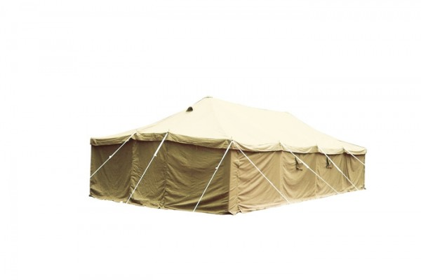 Armeezelt 10x5 Meter Khaki