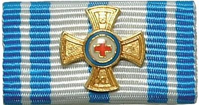 Bandschnalle Bayrisches Rotes Kreuz Gold