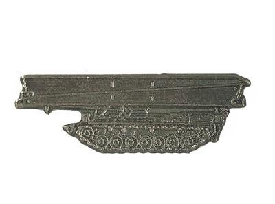 BW Mützenanstecker Metall Biber