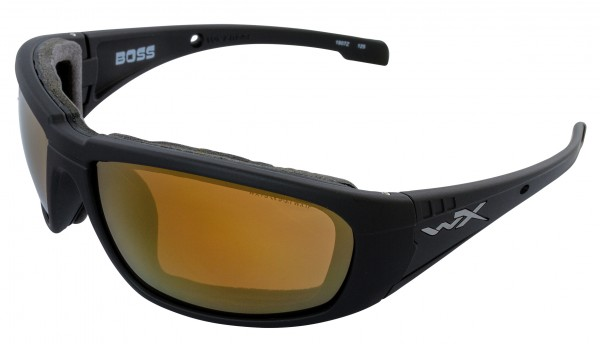 Wiley X Boss Sonnenbrille Polarized Amber Gold Mirror