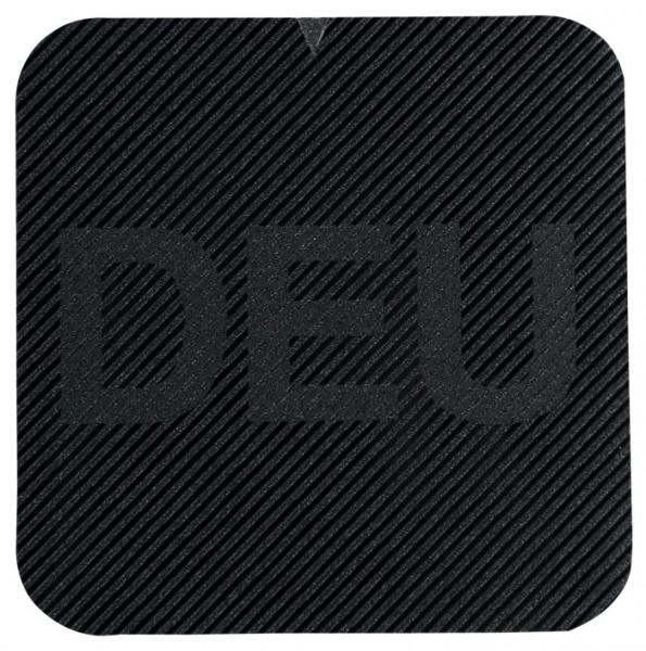 Infrarot Abzeichen mit DEU auf Klett 50x50mm