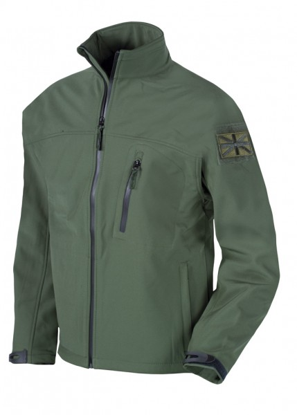 Web-tex Tactical Softshell Jacket Oliv