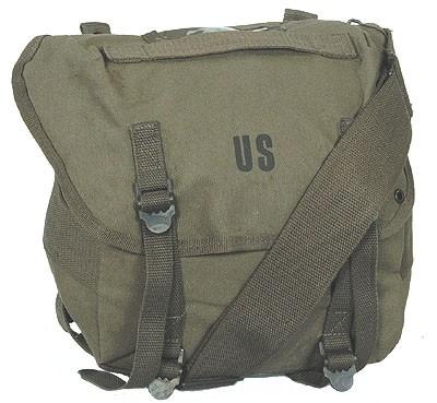 US Packtasche M67 mit Gurt Oliv