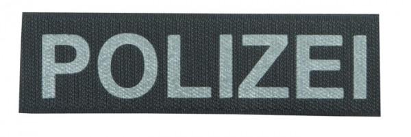 Schriftzug POLIZEI Reflektierend 13 x 3,5 cm