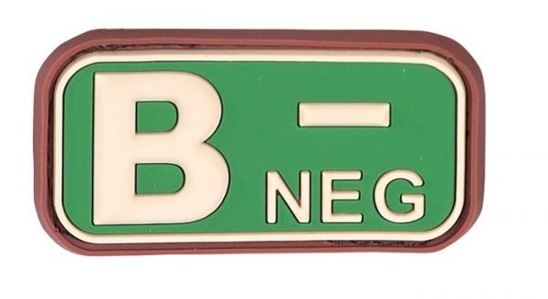 3D Blutgruppenpatch Multicam B neg -