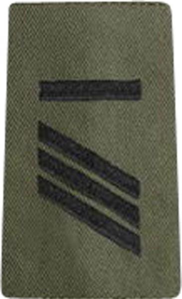 BW Rangschl. Hauptgefreiter UA Heer Oliv/Schw.