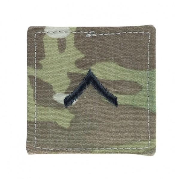 US Textilabzeichen Klett Multicam Private