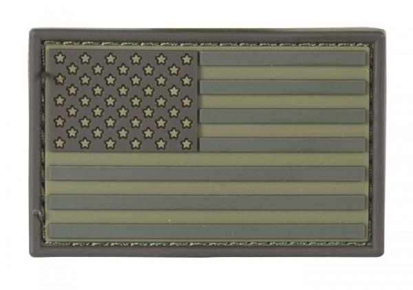 US Flagge Multicam Gummi/Klett