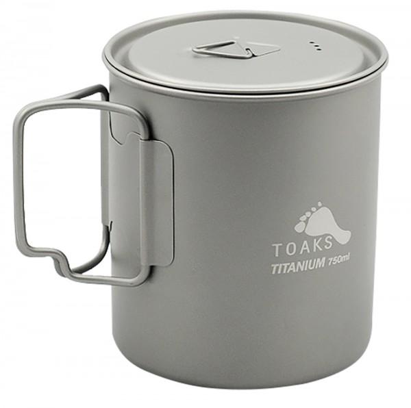 Toaks Titanium Pot 750 ml mit Deckel