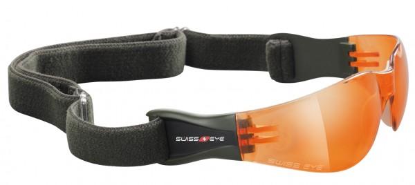 SwissEye Tactical Brille Outbreak Oliv/Orange