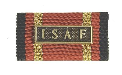 Bandschnalle Auslandseinsatz ISAF