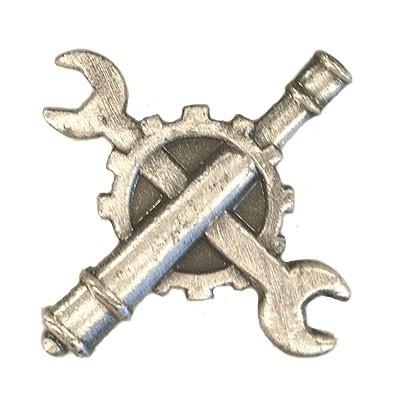 BW Mützenanstecker Metall Instandsetzung