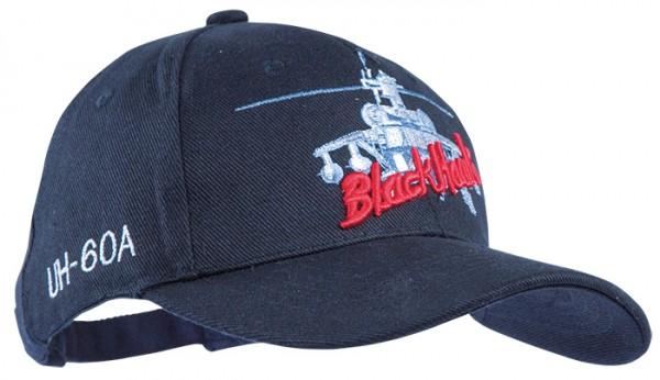 Baseball Cap Black Hawk Sikorsky UH-60