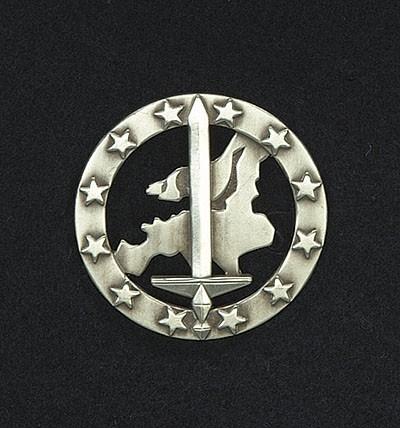 BW Barett Abzeichen Euro Korps Metall