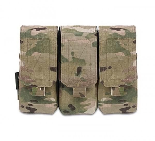 Warrior Triple M4 Mag Pouch Multicam