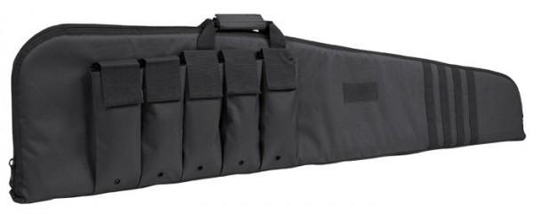 Rifle Case m.Gurt Schwarz 140cm