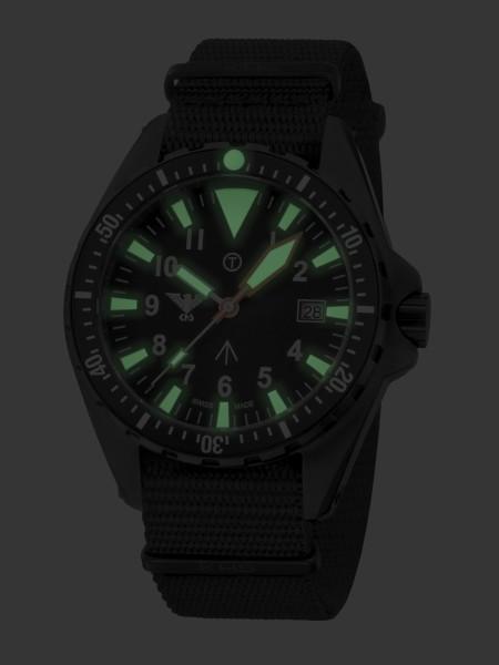 KHS Missiontimer 3 C1 Arabic Armbanduhr NATO